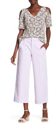 Nanette Lepore Be Cool Wide Leg Woven Pants