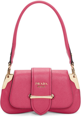 Prada Pink Mini Sidonie Shoulder Bag