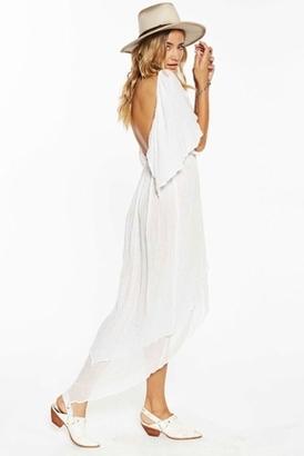 Jen's Pirate Booty Diamond Maxi Dress in White $202 thestylecure.com