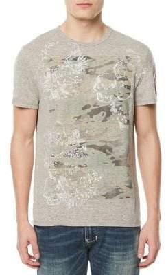 Buffalo David Bitton Tostill Camouflage-Print T-Shirt