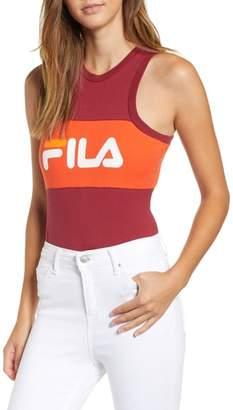 Fila Riley Logo Tank Bodysuit