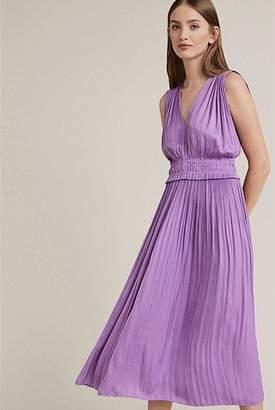 Witchery Pleated Midi Dress