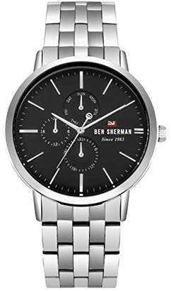 Ben Sherman Men's 'The Dylan Multifunction' Quartz Stainless Steel Casual Watch