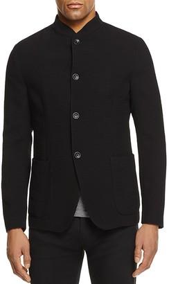 Armani Collezioni Mandarin Collar Regular Fit Sport Coat $895 thestylecure.com