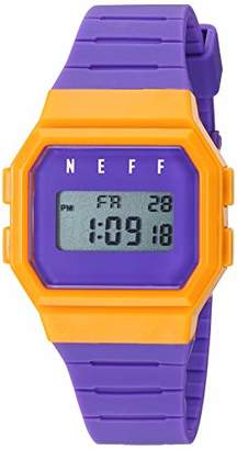 Neff Chinese-Automatic Sport Watch with Polyurethane Strap