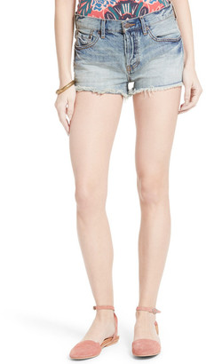 Free People Stilt Denim Cutoff Short $68 thestylecure.com