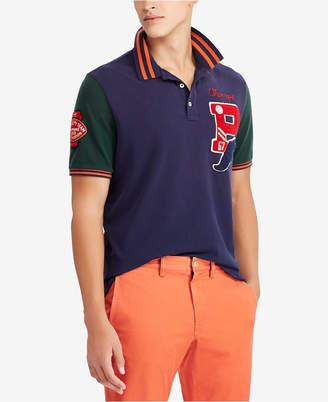Polo Ralph Lauren Men's Big & Tall Patch Classic Fit Cotton Mesh Polo