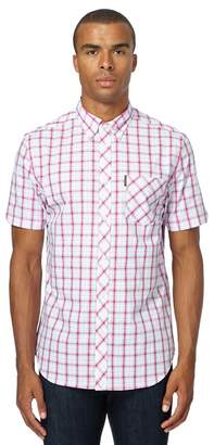 Ben Sherman Pink Checked Regular Fit Shirt
