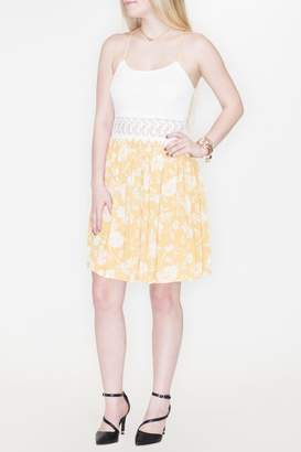 FAVLUX Crochet Waist Dress