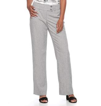 Apt. 9 Women's Midrise Curvy Dress Pants