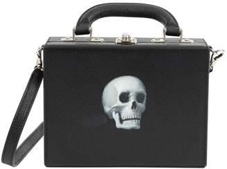 Bertoni Black Leather Handbag