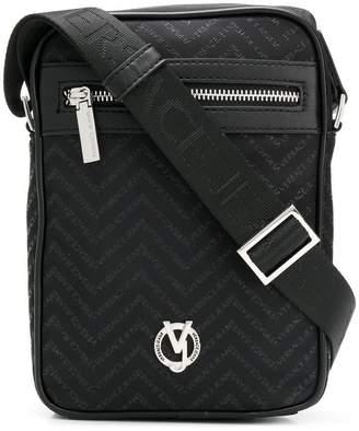 Versace chevron monogram crossbody bag