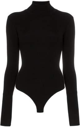 Khaite Cate long-sleeved high neck bodysuit