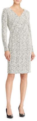 Lauren Ralph Lauren Petite Long-Sleeve Sheath Dress