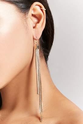 Forever 21 Fringe Duster Earrings