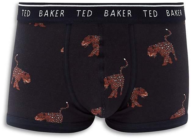 Ted Baker Regis Leopard-Print Boxer Briefs