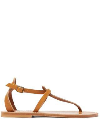K. Jacques Buffon ankle-strap leather sandals
