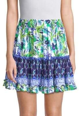 Lilly Pulitzer Raya Printed Mini Skirt