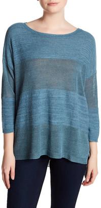 Cullen Shadow Stripe Boxy Shirt $126 thestylecure.com