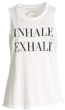 Spiritual Gangster Women's Inhale Muscle Tank