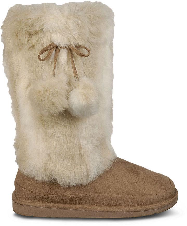 Dr. Scholl's Booties, Tatum Faux-Fur Booties