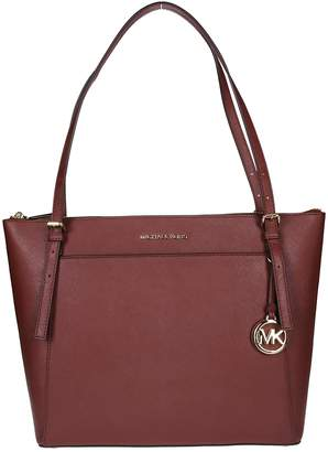 MICHAEL Michael Kors Burgundy Tote Bag