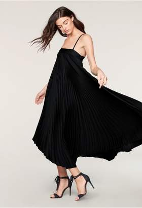 Stretch Silk Pleated Irene Dress