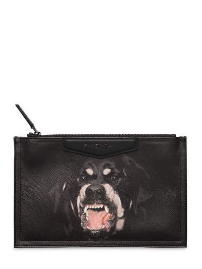 Givenchy Rottweiler Printed Medium Pouch