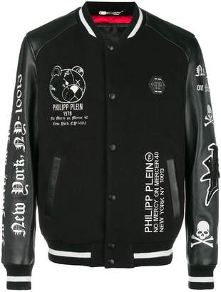 Philipp Plein No Mercy bomber jacket