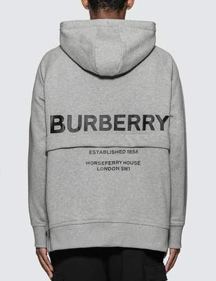 Burberry Horseferry Print Cotton Hoodie
