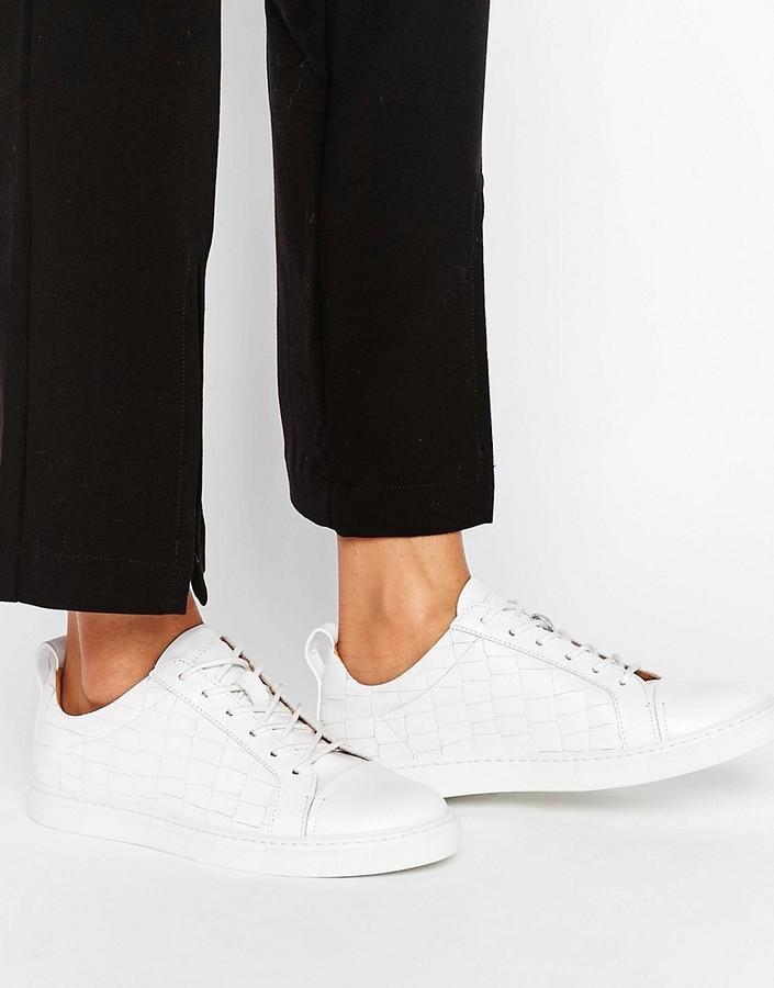 Whistles Kenley Croc Sneakers