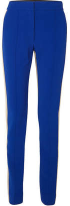 Derek Lam Striped Jersey Slim-leg Pants - Blue
