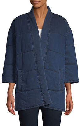 Eileen Fisher Slouchy Open Jacket