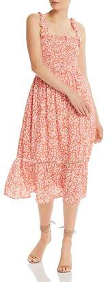 Lost and Wander Lost + Wander Selena Floral-Print Midi Dress