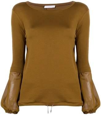 Fabiana Filippi drawstring hem sweater