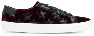 Saint Laurent velvet signature court classic SL/06 velvet sneakers