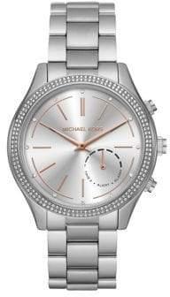 Michael Kors Slim Runway Stainless Steel Bracelet Watch