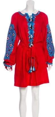 Vita Kin Knee-Length Linen Dress