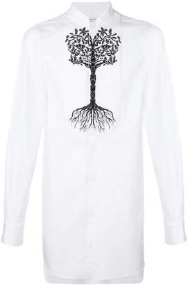 Alexander McQueen tree patch shirt