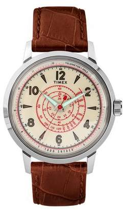 Todd Snyder Timex + Beekman Watch in Brown