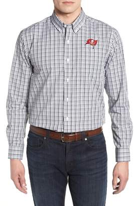 Cutter & Buck Tampa Bay Buccaneers - Gilman Regular Fit Plaid Sport Shirt