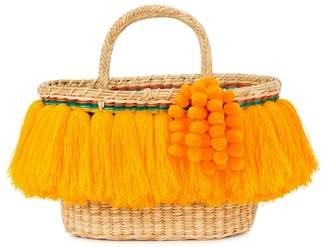 Vix NANNACAY Fringed Basket Bag