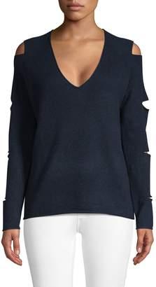 360 Cashmere Tyrone Slash Sleeve Cashmere Sweater