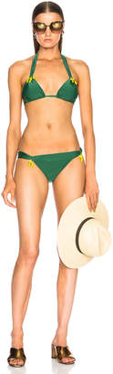 Adriana Degreas Long Triangle Bikini Set