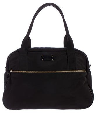 Kate Spade Kate Spade New York Leather-Trimmed Nylon Satchel
