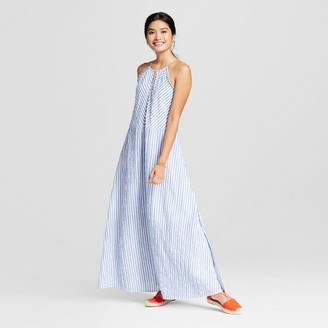 Merona Women's Striped Halter Maxi Dress $29.99 thestylecure.com
