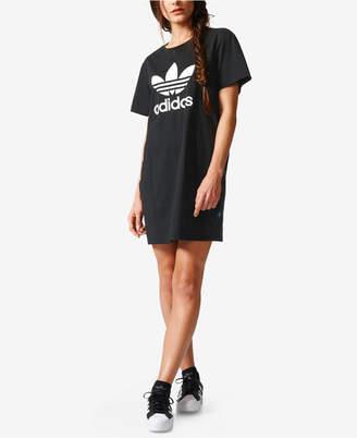 adidas Originals Cotton Trefoil Dress $40 thestylecure.com