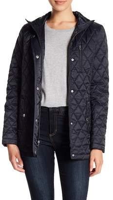 Nautica Front Zip Quilted Jacket