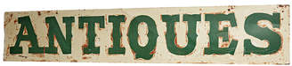 Rejuvenation Extra-Large Hand-Painted Antiques Sign
