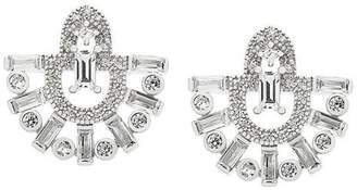 V Jewellery Runa fan earrings